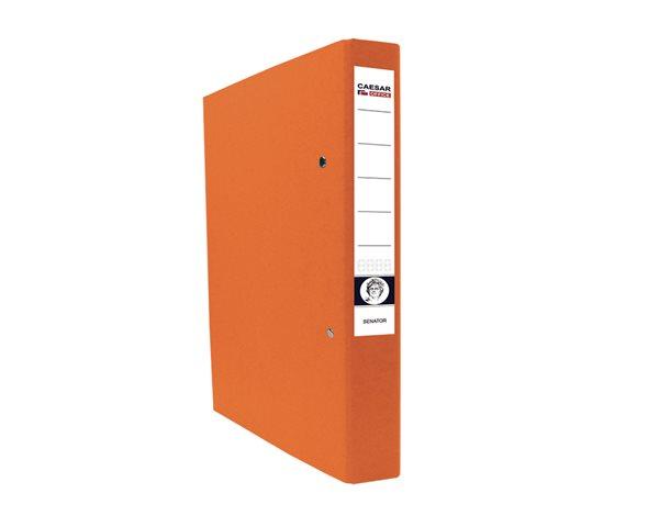 CAESAR OFFICE SENATOR Pořadač 2-kroužkový A4 4cm - oranžový