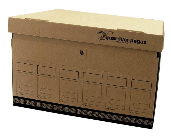 CAESAR OFFICE Archivační krabice s víkem 470x310x330mm