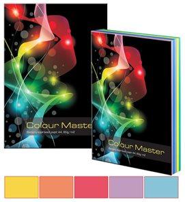 Colour Master - barevný papír A4 80g 5x20 barev - mix intenzivních  barev