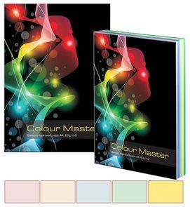 Colour Master Barevný papír A4 80g 5x100 barev - mix pastelových  barev