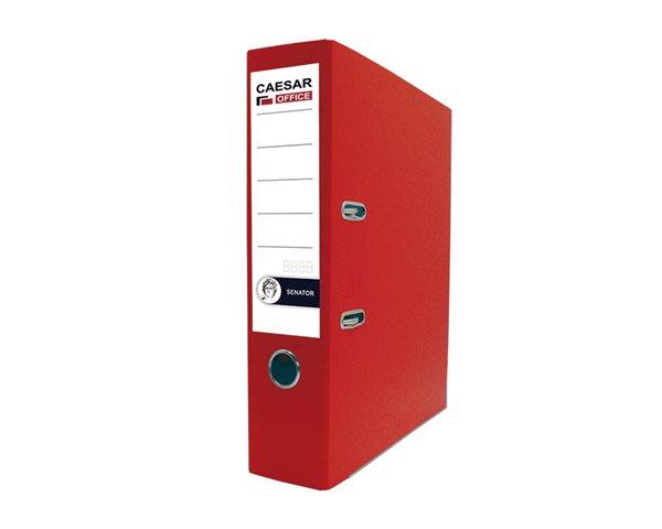 CAESAR OFFICE SENATOR pořadač pákový A4 7,5cm - červený