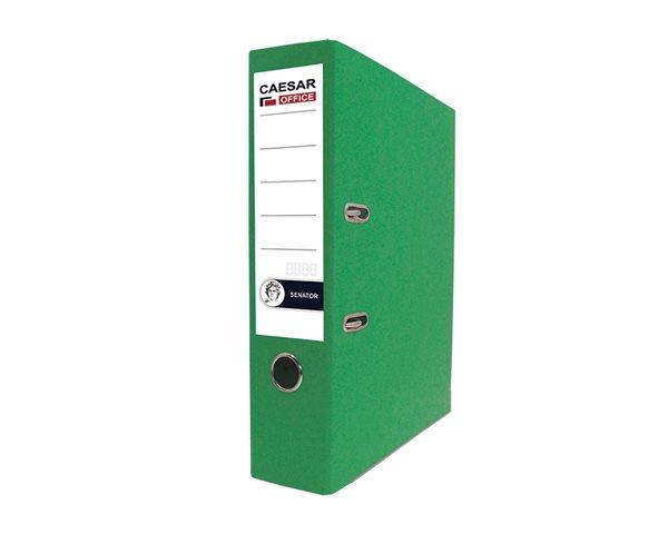CAESAR OFFICE SENATOR pořadač pákový A4 7,5cm - zelený