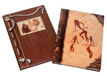 Záznamová kniha A4 100 l., šitá, linkovaná