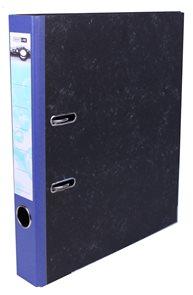 Pořadač pákový 5cm papír - modrý