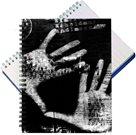 Bobo Záznamní kniha A5 Black&White s boční spirálou  A5 50 listů - linkovaná
