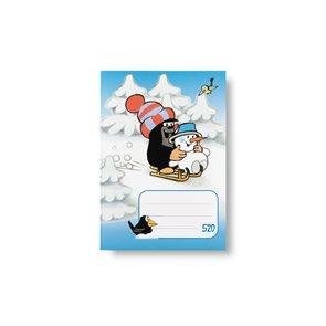 BOBO Sešit 520 čistý 20 listů - KRTEK