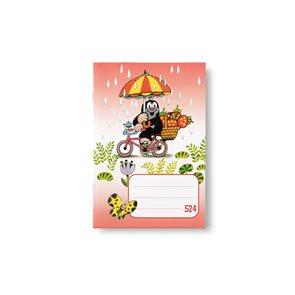 BOBO Sešit 524  linka 20 listů - KRTEK