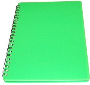 BOBO Plastic blok Neon A5 linka 60 listů - zelený