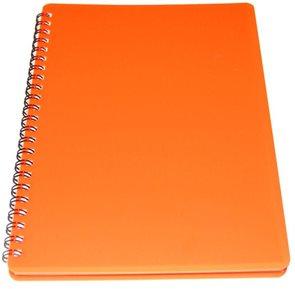 BOBO Plastic blok Neon A6 linka 60 listů - oranžový