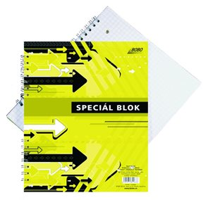 Blok Speciál COLOR A5 - čtverečkovaný