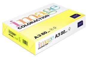 Coloraction A3 80g 500ks - Reflexní žlutá