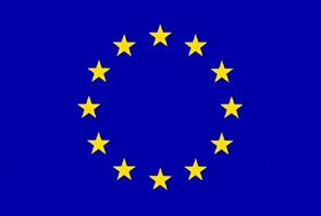 Vlajka EU - návlek na žerď 60×90