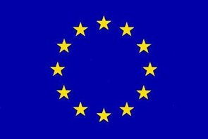 Vlajka EU - návlek na žerď 100×150