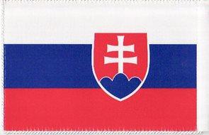 Stolní vlaječka Slovensko - praporek s návlekem