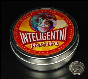 Inteligentní plastelína - magnetická - černá
