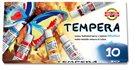 Koh-i-noor - barvy temperové v tubě, 16 ml - 10 barev