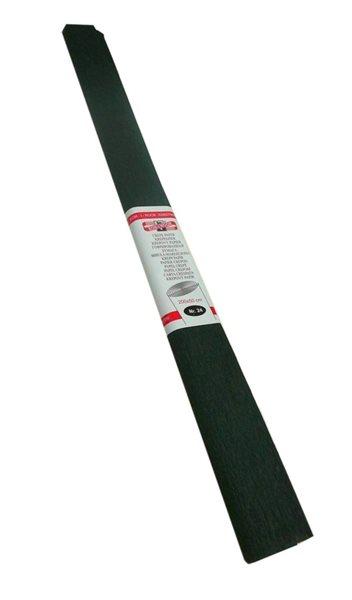 Koh-i-noor Krepový papír barva 24 černá - Role 50×200 cm