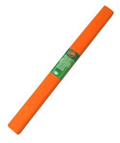 Koh-i-noor Krepový papír  barva 11 světle oranžová