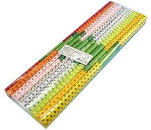 Koh-i-noor Krepový papír 9755 tečkovaný MIX - souprava 10 barev