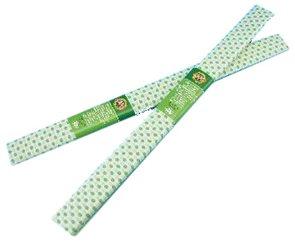 Koh-i-noor Krepový papír tečkovaný bílo zelený 57