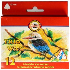 Koh-i-noor trojhranné voskovky MAXI 8272 - 12 barev