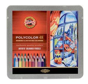 Umělecké pastelky Koh-i-noor POLYCOLOR - 48 ks