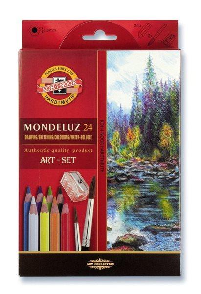Umělecké akvarelové pastelky Koh-i-noor 3711 - 24 ks