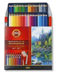 Umělecké akvarelové pastelky Koh-i-noor 3713 - 48 ks