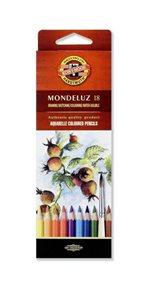 Umělecké akvarelové pastelky Koh-i-noor 3717 - 18 ks