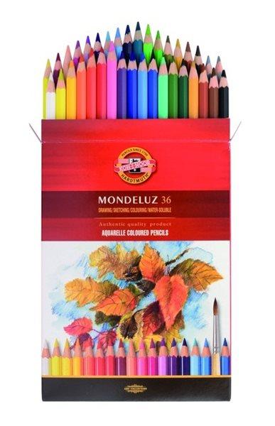 Umělecké akvarelové pastelky Koh-i-noor 3719 - 36 ks