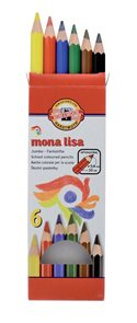 Koh-i-noor pastelky Mona Lisa - 6 ks