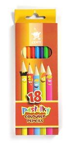 Koh-i-noor pastelky CENTI - 18 ks