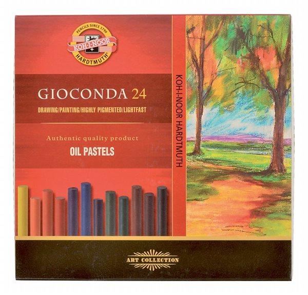 Olejové pastely Koh-i-noor - GIOCONDA 8354 - 24 ks