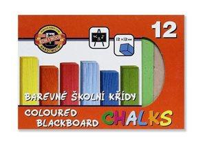 Křídy barevné Koh-i-noor - 12 ks