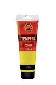 Temperová barva koh-i-noor Tempera 250 ml - žluť tmavá