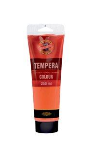 Temperová barva koh-i-noor Tempera 250 ml - rumělka červená