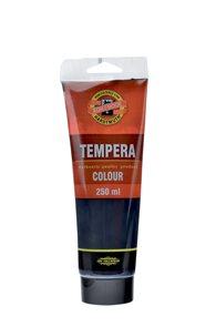Temperová barva koh-i-noor Tempera 250 ml - černá