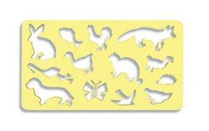 Obkreslovací šablona - zvířátka II.