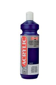 Koh-i-noor akrylová barva Acrylic - 500 ml - modř tmavá