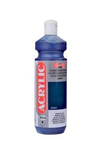 Koh-i-noor akrylová barva Acrylic - 500 ml - modř pařížská