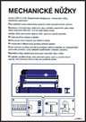 Pravidla bezpečné práce pro mechanické nůžky - A3/ plast