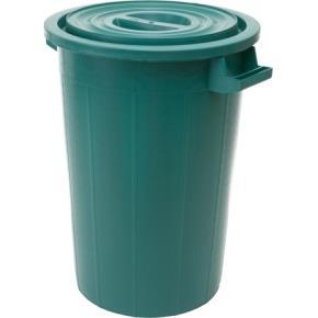 Plastová nádoba na odpad 120l + víko