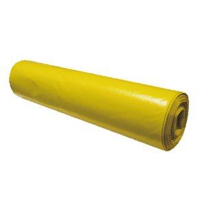 Pytle na odpad 120 l - žluté 80 mic (15 ks)