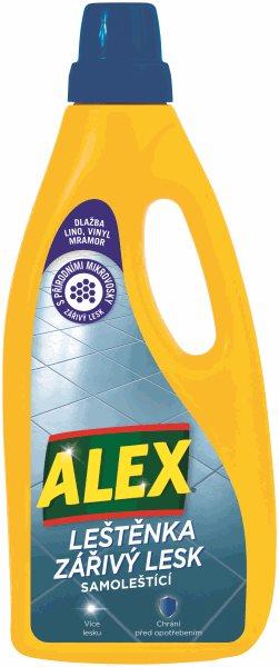 Alex leštěnka zářivý lesk - na vinyl, dlažbu, lino 750 ml