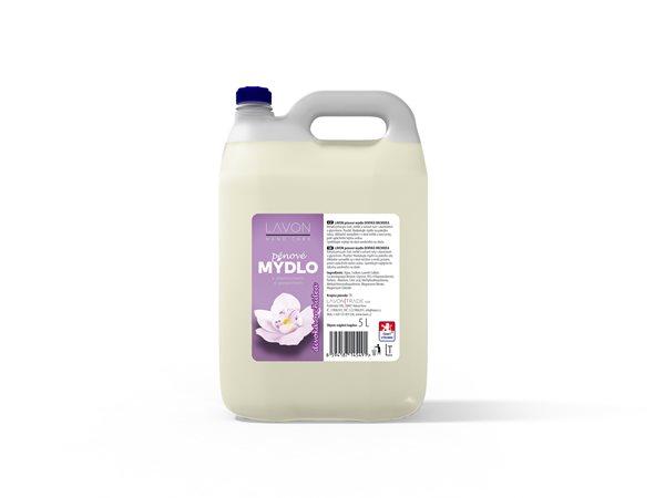 Lavon Hand Care - pěnové mýdlo 5L - Divoká orchidea