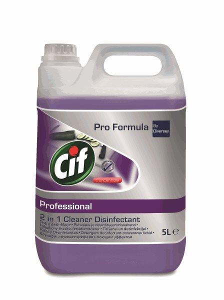 CIF Professional 2 v 1 - čištění a dezinfekce - 5 L
