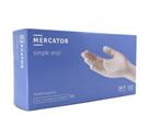 Jednorázové rukavice MERCATOR Vinyl bez pudru, 100ks - vel. M