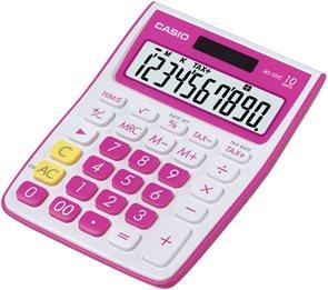 Casio Kalkulačka MS 10 VC RD - červená