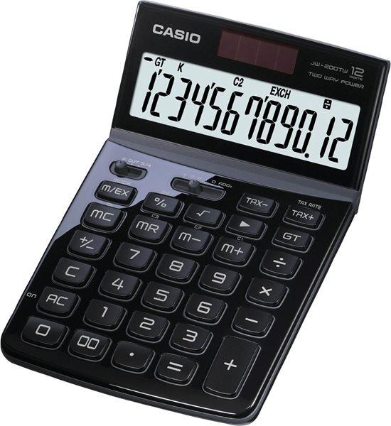Casio Kalkulačka JW 200TW BK - černá