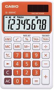 Casio Kalkulačka SL 300 NC RG - oranžová